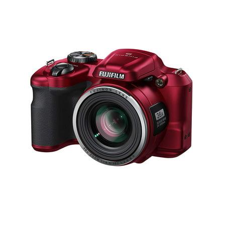 Fujifilm FinePix S8600 (Red) Digital Camera 3 inch LCD 16.0