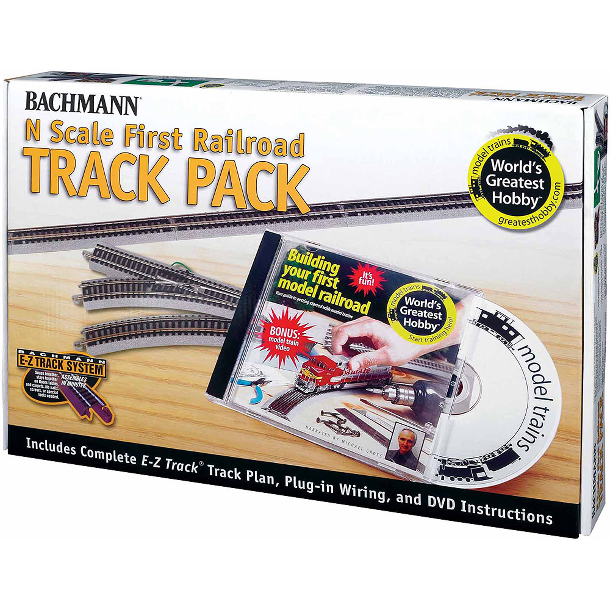 Bachmann Trains World's Greatest Hobby Track Pack, N Scale