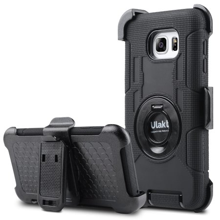 best service c8105 d4e57 Galaxy Note 5 Case, ULAK Samsung Galaxy Note 5 Case -[Belt Clip KickStand  Series] Resistant Design Shock Absorbing Protective Case w/Rotating Belt ...