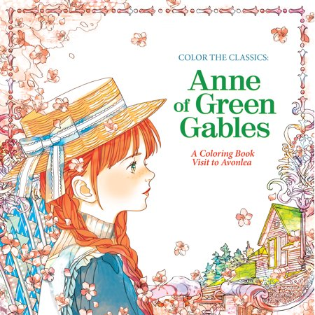 Anne of green gables a coloring book visit to avonlea for Anne of green gables crafts