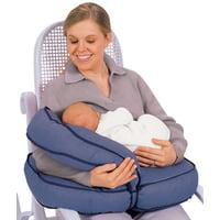 Leachco Natural Boost Adjustable Nursing Pillow, Denim