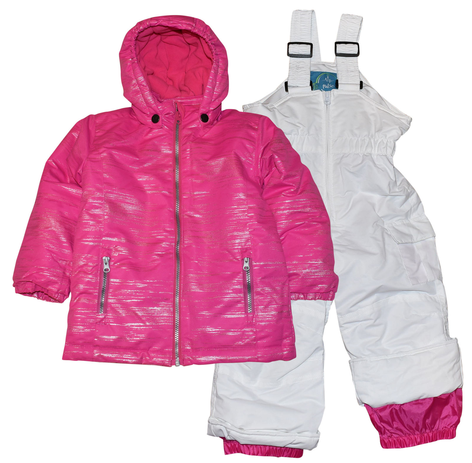 Pulse Toddler Girls Insulated Snowsuit 2T-4T Glitter Snow...