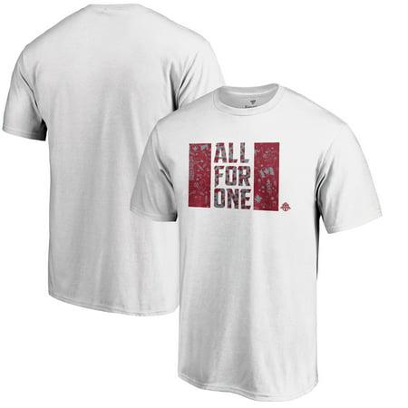 Toronto FC Fanatics Branded Patriotic Club T-Shirt - White (Club Halloween Toronto)
