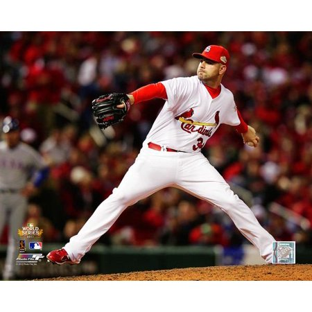 Marc Rzepczynski Game 6 of the 2011 MLB World Series Action Photo Print