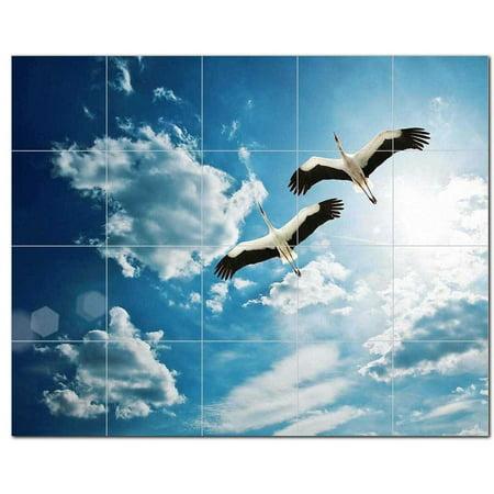 Bird Ceramic Tile Mural Kitchen Backsplash Bathroom Shower 402108 S54