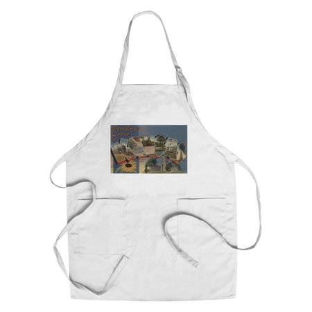 Greetings from Kansas (State Capital & Flower) (Cotton/Polyester Chef