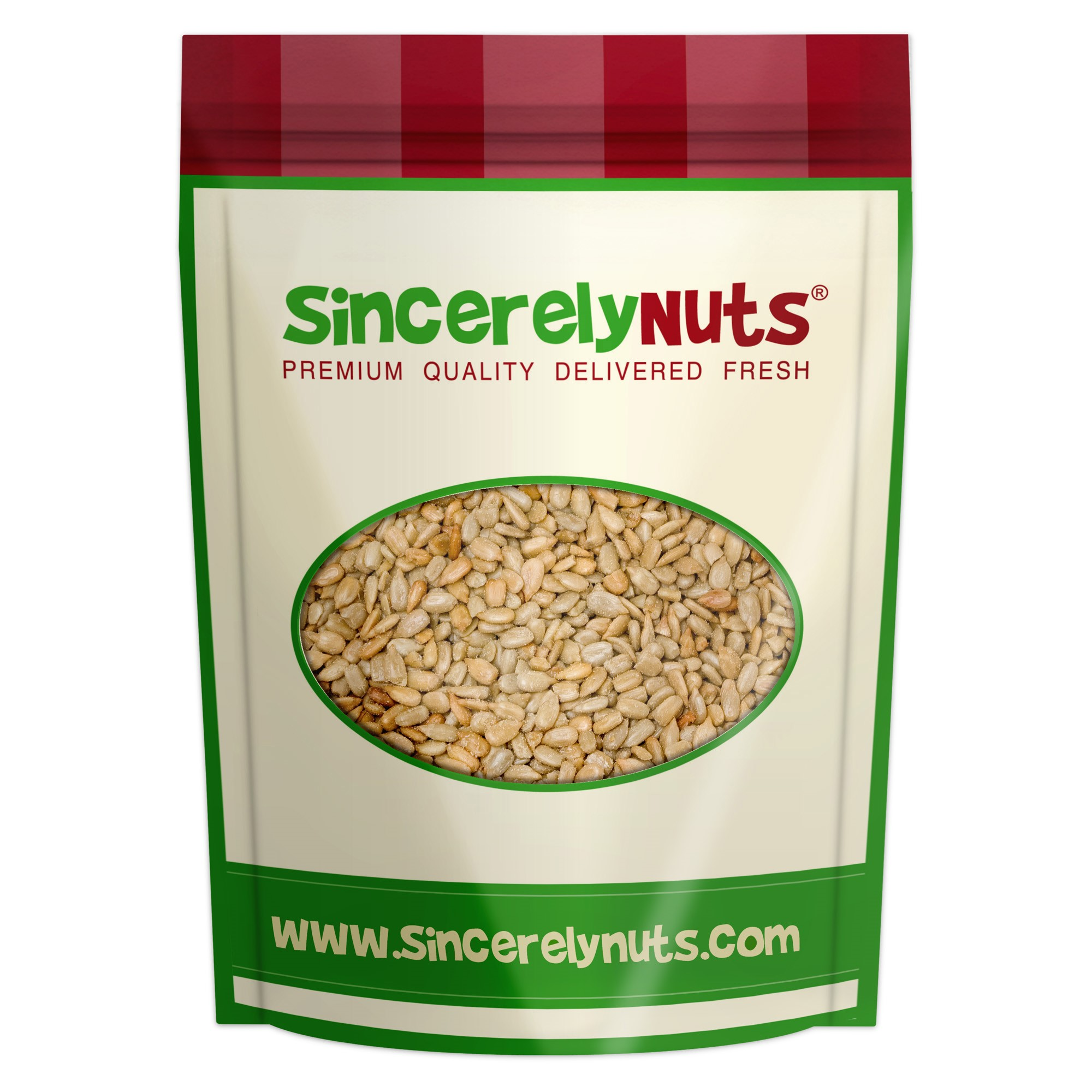 Sincerely Nuts Sunflower Seeds, Roasted and Salted, No Shell, 1 Lb