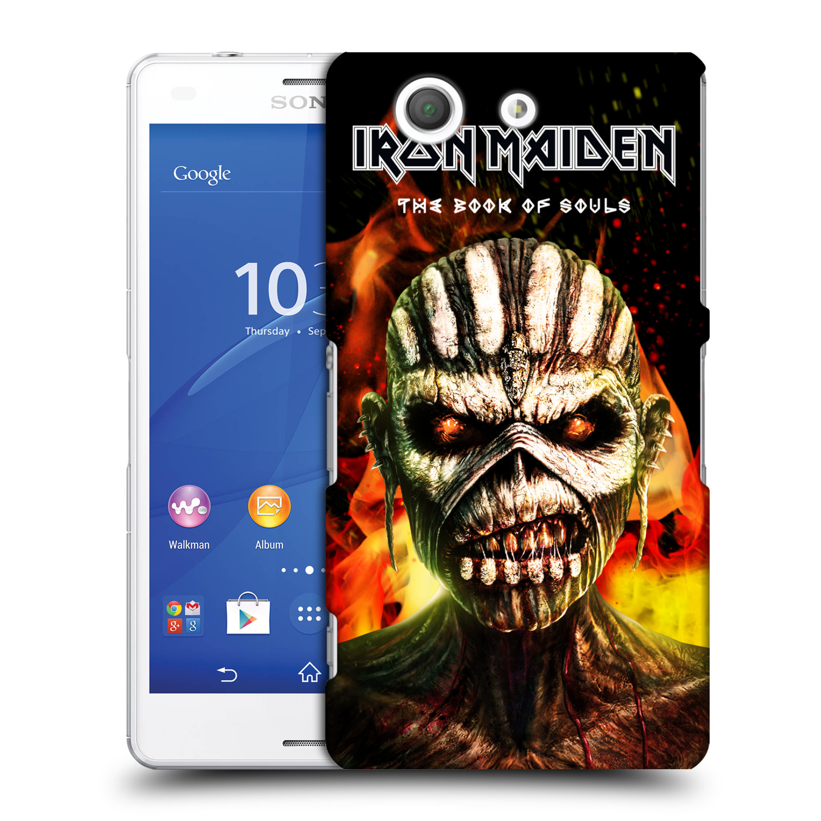 OFFICIAL IRON MAIDEN TOURS HARD BACK CASE FOR SONY PHONES 2 Walmart