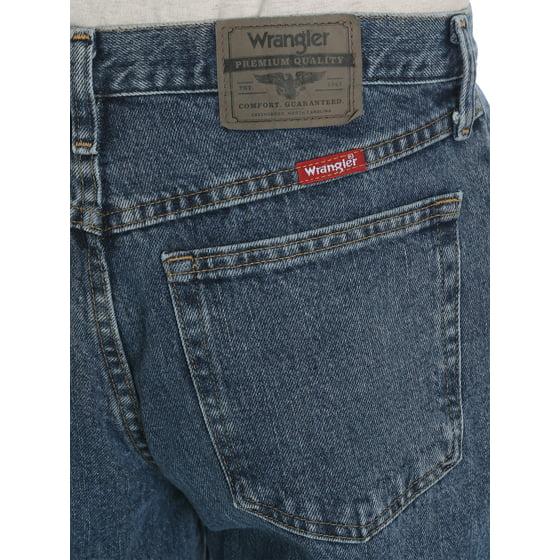 907b5e02 Wrangler - Wrangler Men's Relaxed Fit Jeans - Walmart.com