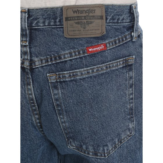 a0ec3012 Wrangler - Wrangler Men's Relaxed Fit Jeans - Walmart.com