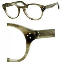 b5ef9e4339ec Product Image Eyeglasses Celine 41300 07JV Green