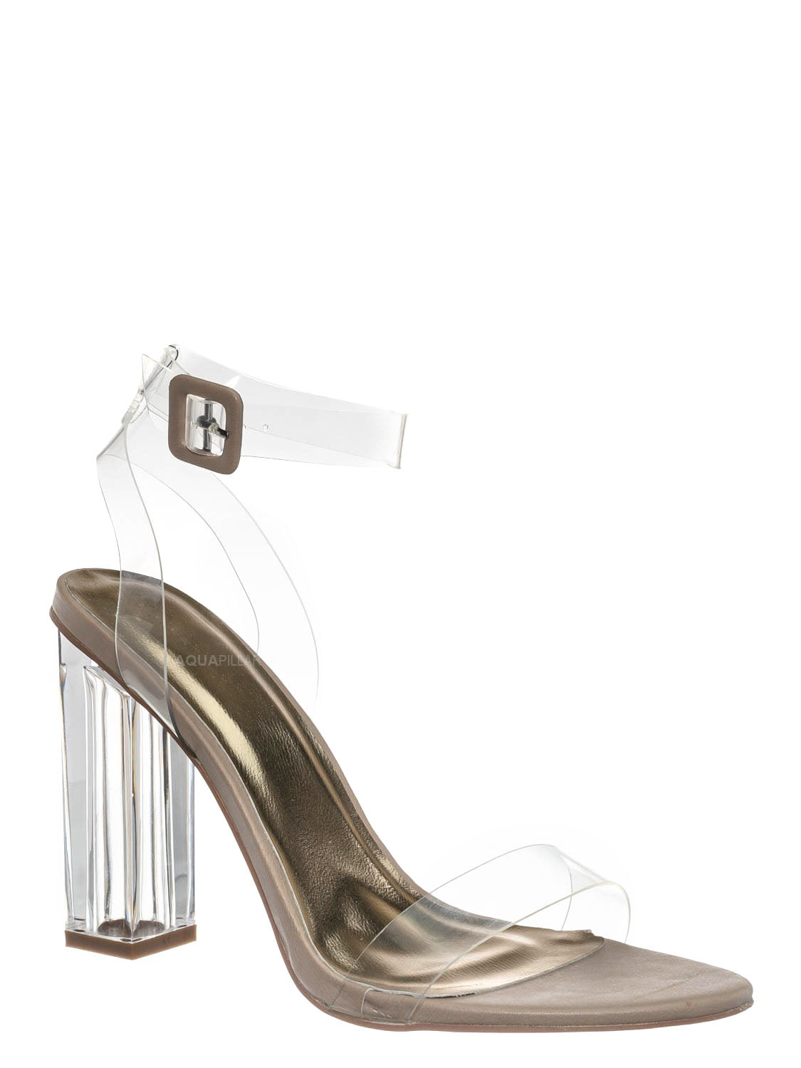 LOL Surprise Accessory Translucent White Sandal with Bow Shoes