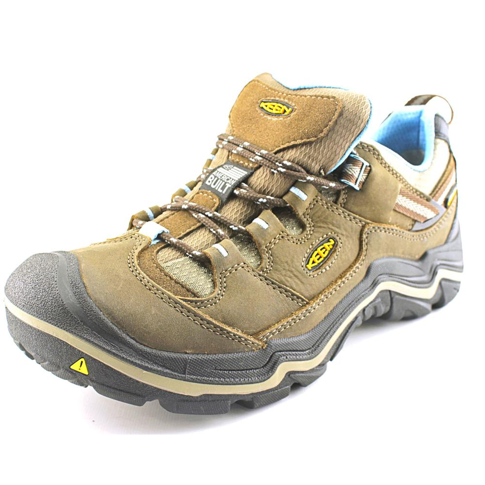 Keen Durand Low Wp Round Toe Leather Hiking Shoe by Keen