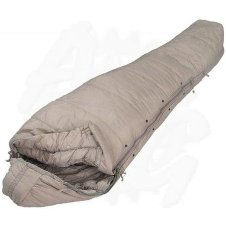 US Military Genuine Issue Intermediate Cold Weather Sleeping Bag, Grey ,