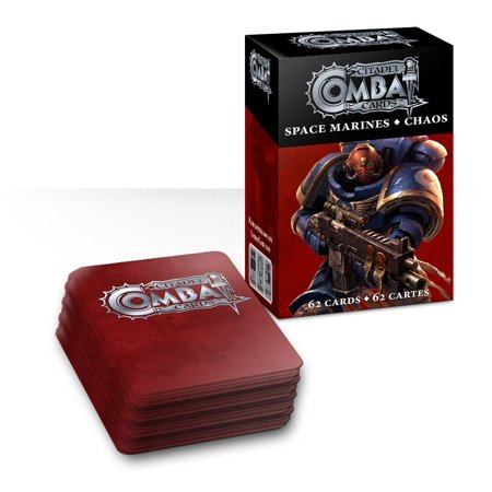 Games Workshop Chaos Space Marines Combat Cards ()