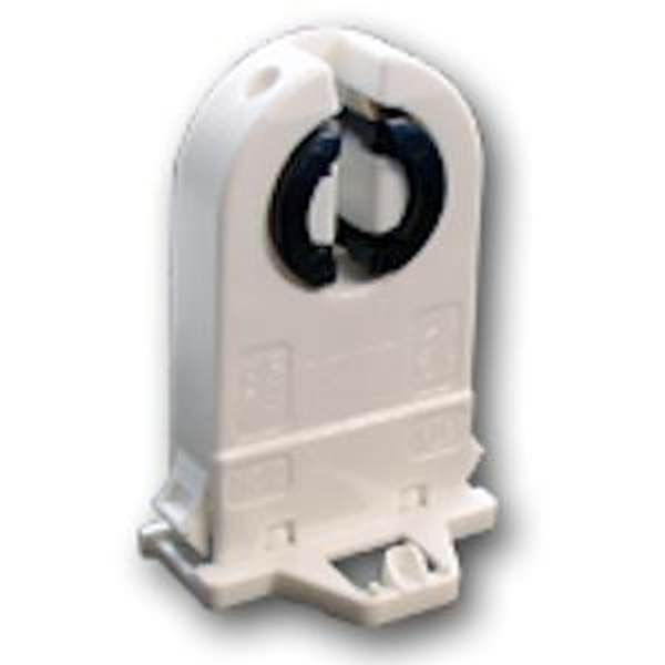 General 00635 - G13 Medium Bi Pin Shunted Rotary Locking Fluorescent Lamp Holder Socket (LH0635)