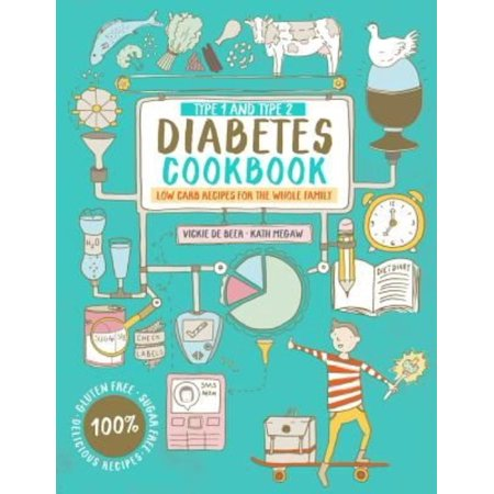 Type 1 And Type 2 Diabetes Cookbook  Low Carb Recipes For The Whole Family