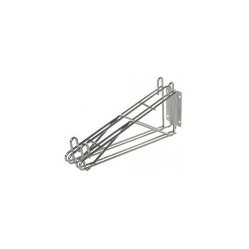 Focus Foodservice FWB12SGN 12 in. single wall bracket-gre...