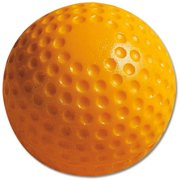 (12 Pack) MacGregor Yellow Dimpled Practice Baseballs
