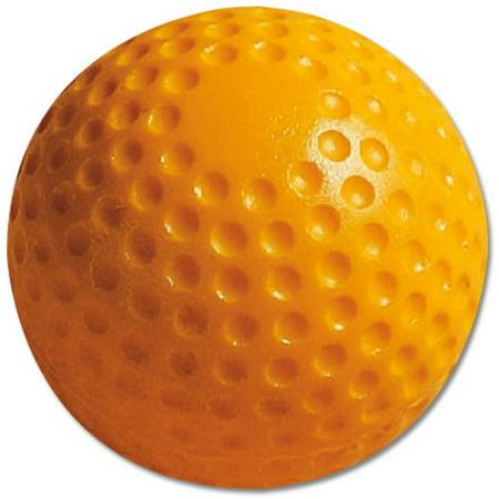 MacGregor Yellow Dimpled Practice Baseballs (Indoor Practice Baseballs)