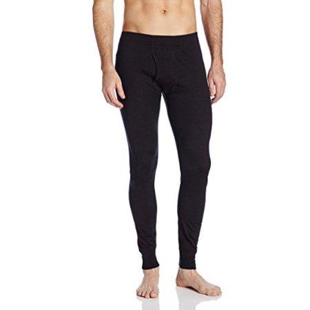 Minus33 Merino Wool Men's Saratoga Lightweight Bottom, Black, Large