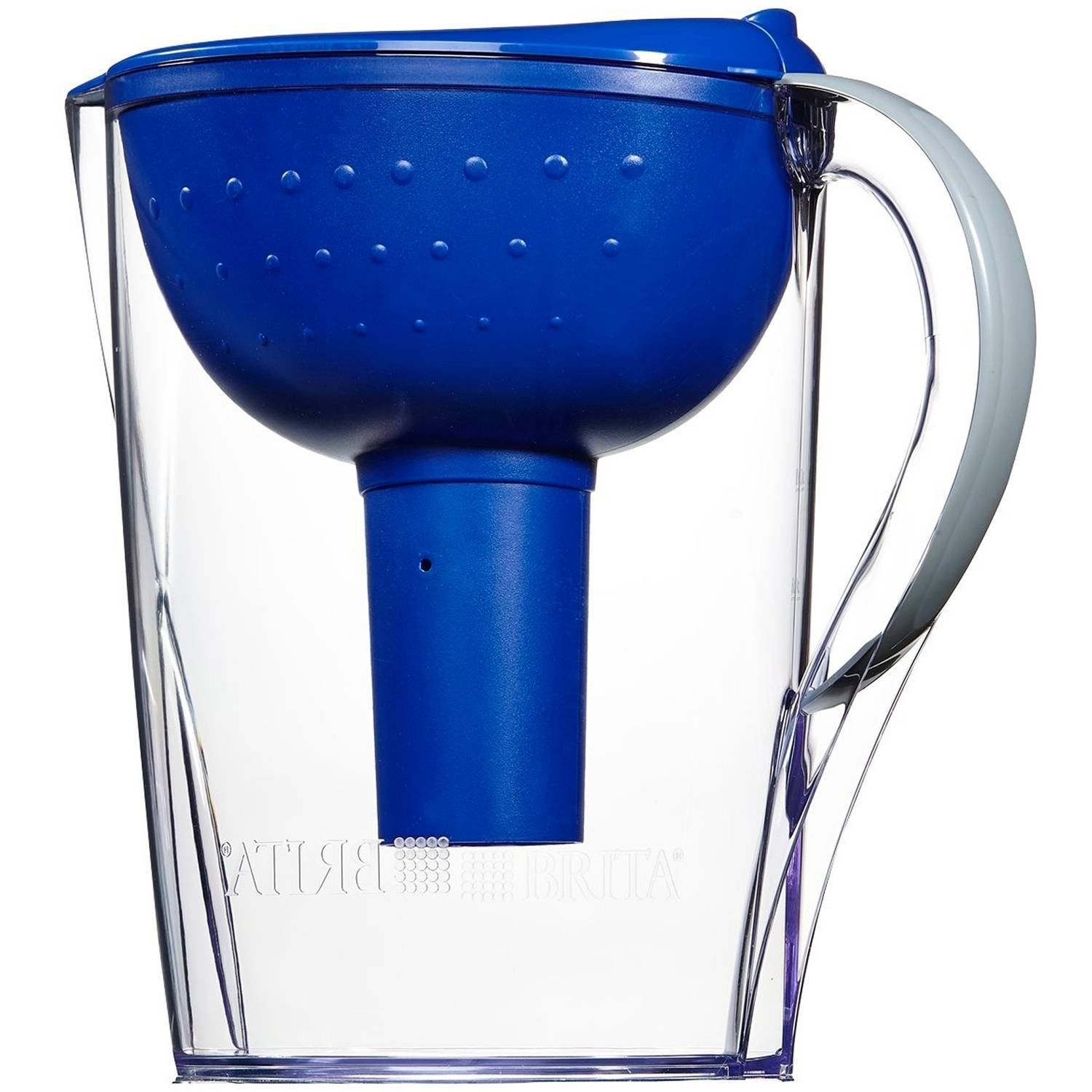 Brita Pacifica Water Pitcher with 1 Filter,  10-Cup, BPA Free
