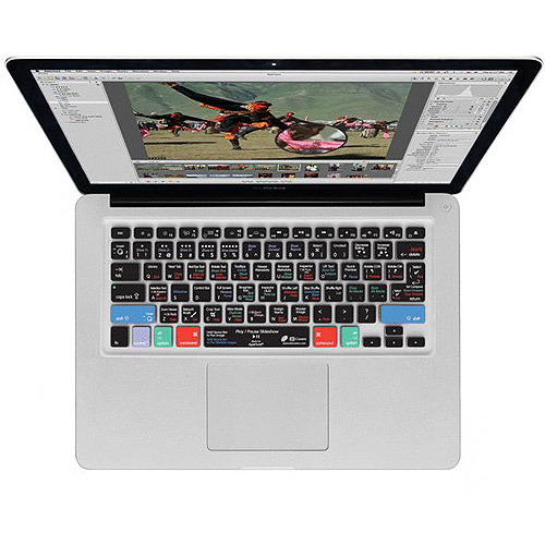KB Covers Aperture Keyboard Cover for MacBook/Air 13/Pro (2008+)/Retina & Wireless (AP-M-CC-2)