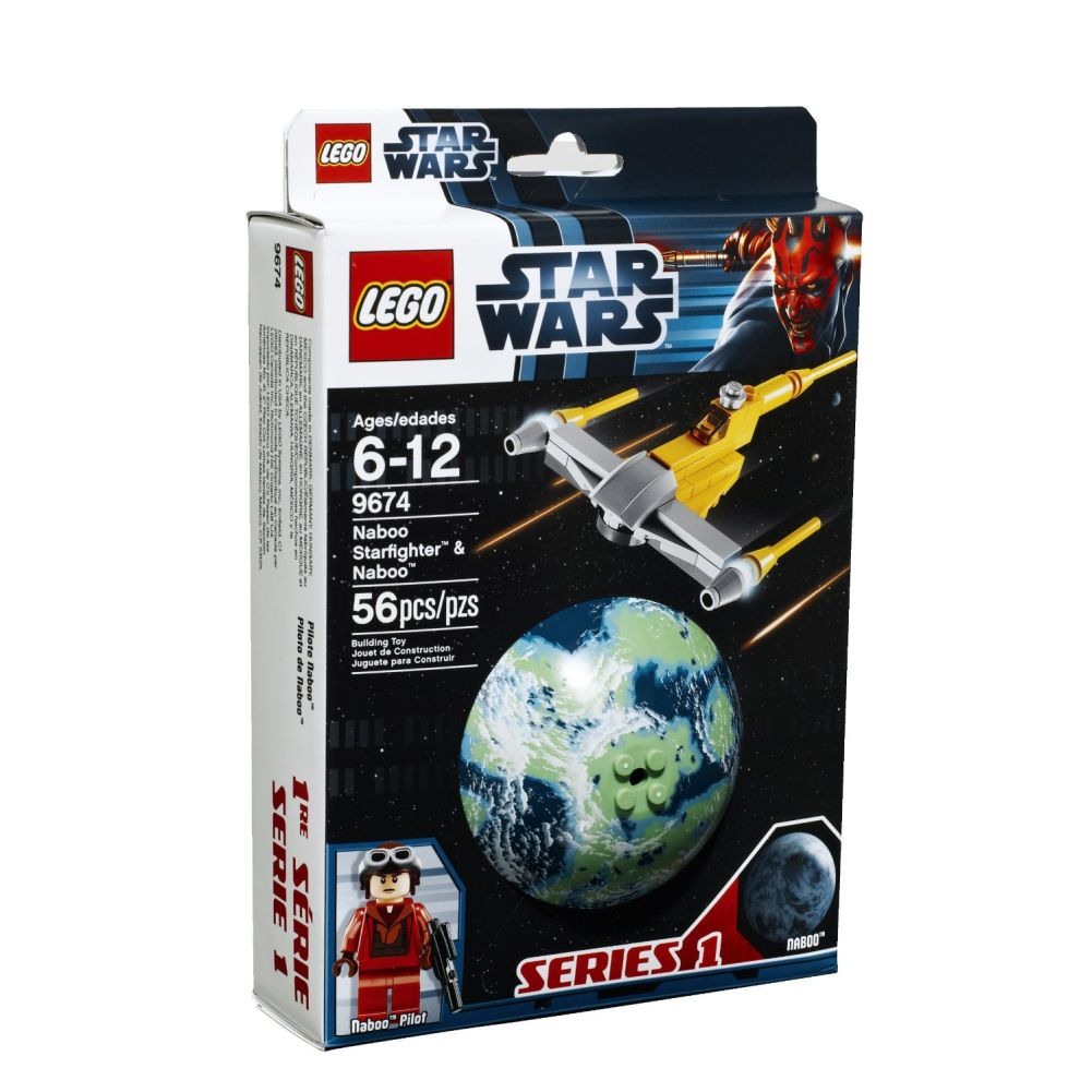 LEGO Star Wars Naboo Starfighter and Naboo