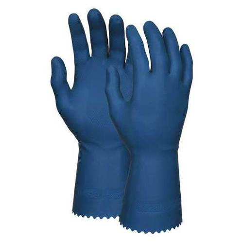 Memphis Glove Size L LatexChemical Resistant Gloves,5090B
