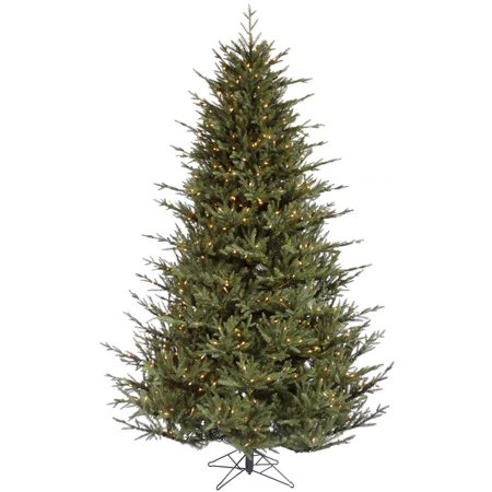 Vickerman Pre-Lit 6.5 Itasca Frasier Artificial Christmas Tree, Dura-Lit, Clear Lights