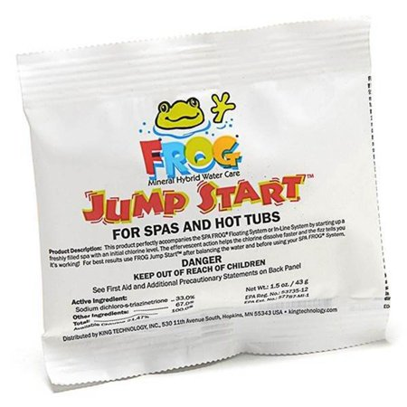Spa Frog Jump Start Mineral 1-1/2 Ounce Spa Chemical Pack--01-14-6012