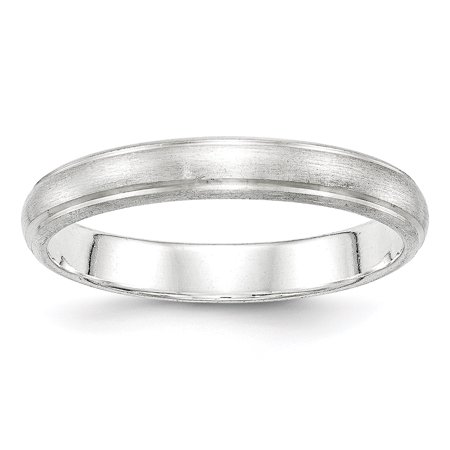.925 Sterling Silver 4 MM Satin Finish Wedding Band Ring, Size 4 MSRP $47 (Satin Band Sterling Silver Ring)