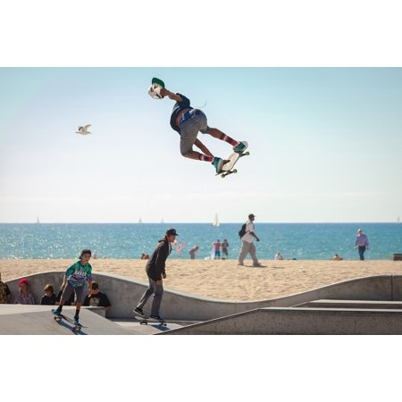 Skateboard Poster - LAMINATED POSTER Active Skateboarding Youth Skateboarders Skateboard Poster Print 24 x 36