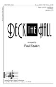 Deck the Hall-Ed Octavo SATB Finger Cym,Hand Drum Intermediate Paul Stuart SHeet Music... by