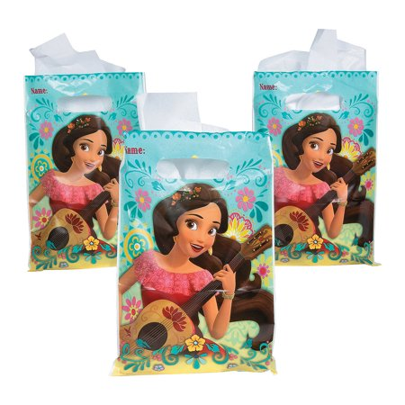 Fun Express - Disney Elena Loot Bags (8pc) for Birthday - Party Supplies - Licensed Tableware - Misc Licensed Tableware - Birthday - 8 Pieces](Birthday Express Catalog)