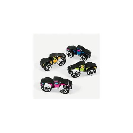 Monster Truck Erasers (12 Pack) - Party Supplies - Party Truck