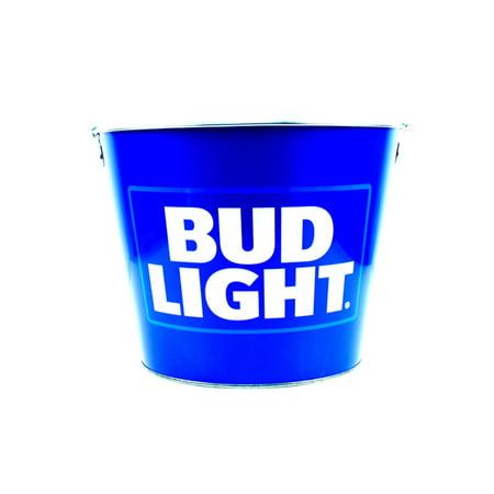 Bud Light Full Color Beer Bottle Bucket (Usc Beer Bucket)