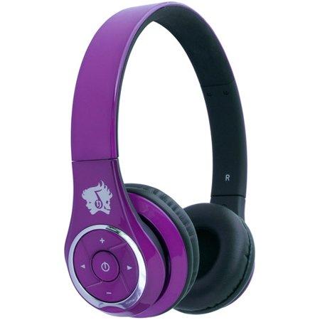 life n soul bn301 p bluetooth headphones purple. Black Bedroom Furniture Sets. Home Design Ideas