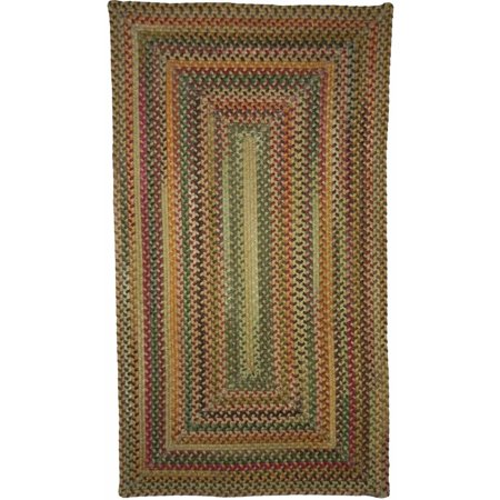 Sherwood Forest Concentric Braided Area Rug Concentric Braided Wool Rugs