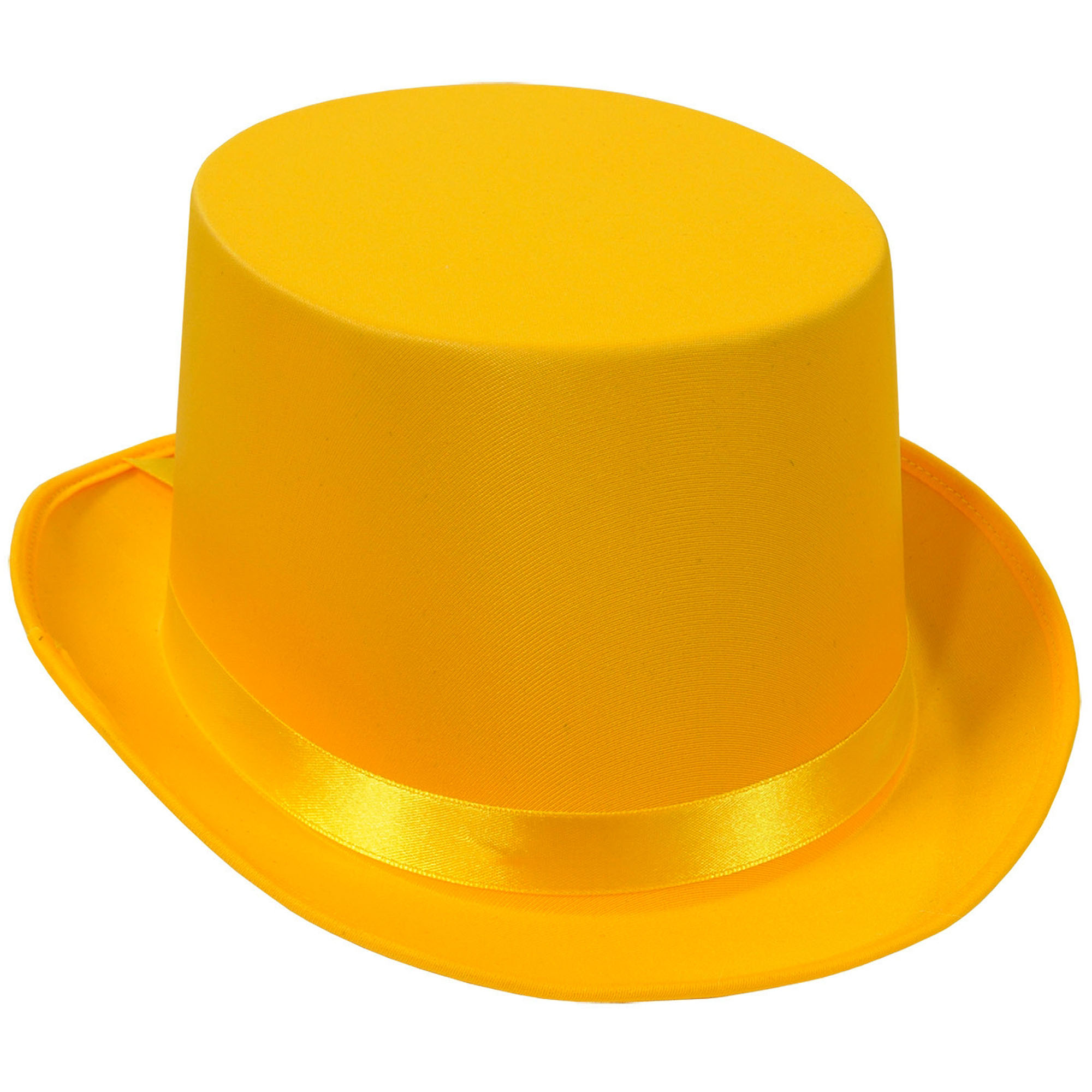 Crinoline Silk Top Hat, Yellow