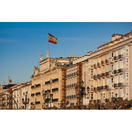 Waterfront Buildings Santander Spain Canvas Art   Walter Bibikow  Danitadelimont  37 X 25