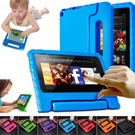 Children Safe Kids Handle Case Shock Proof Protective EVA Foam Stand Case Cover 7 inch For Amazon Kindle Fire 7