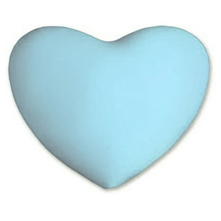 Deluxe Comfort Microbead Heart-Shaped Throw Pillow (16