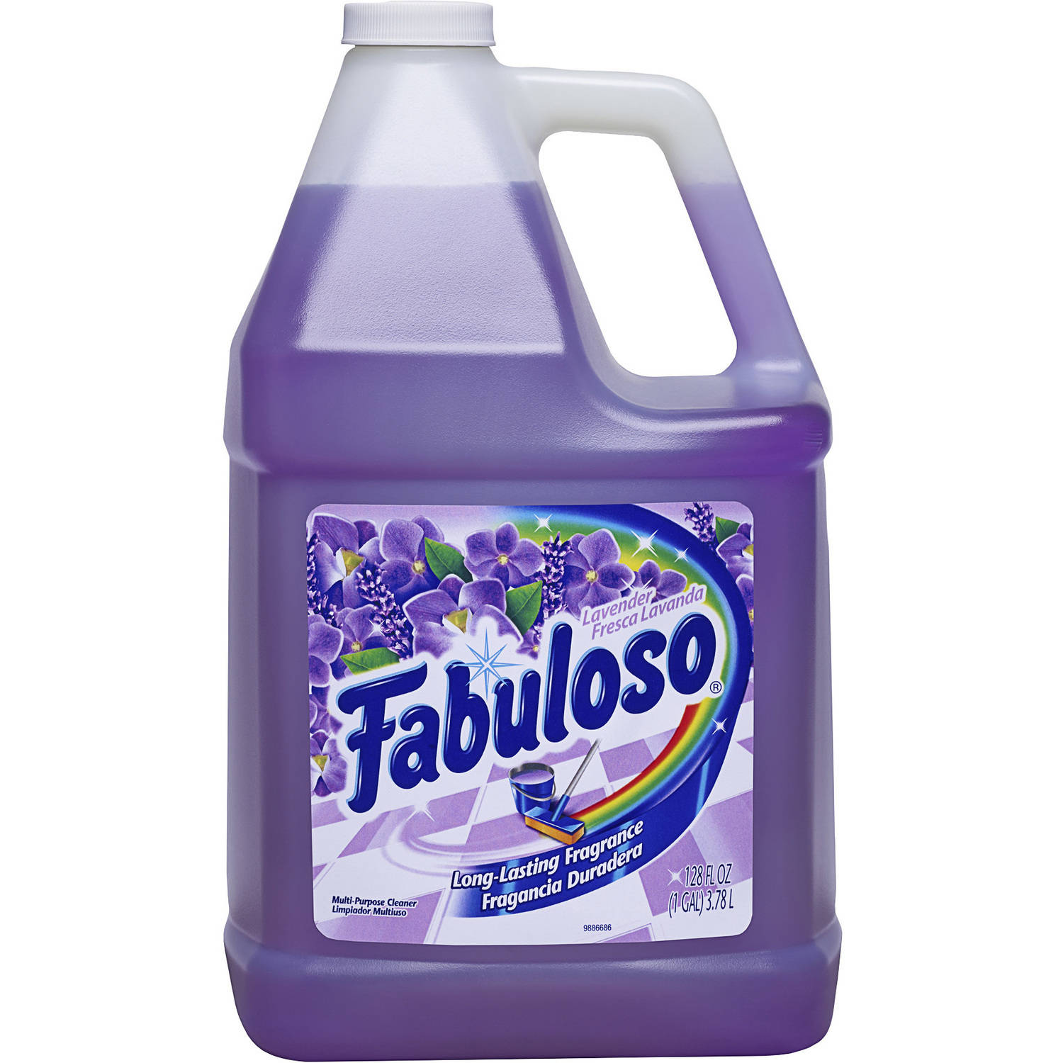 Fabuloso Multi Purpose Cleaner, Lavender, 128 Fluid Ounce