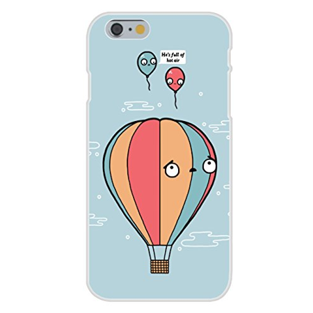 Apple iPhone 6 Custom Case White Plastic Snap On -