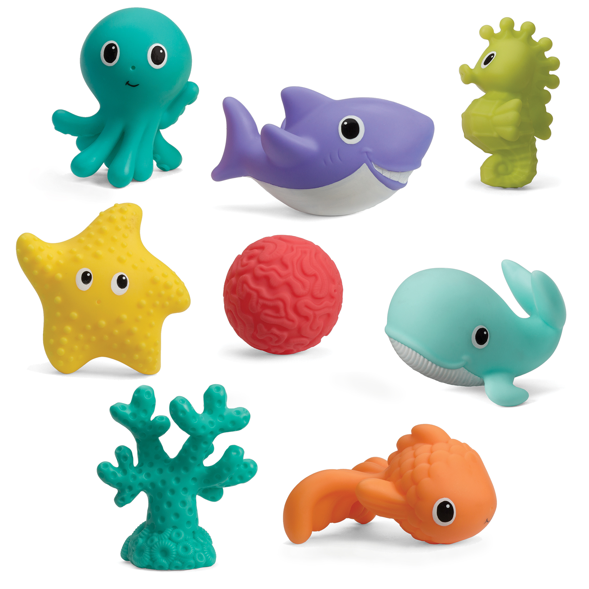 Infantino Aquarium Bath Squirters by Infantino