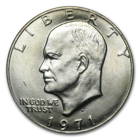 - 1971-D Clad Eisenhower Dollar BU