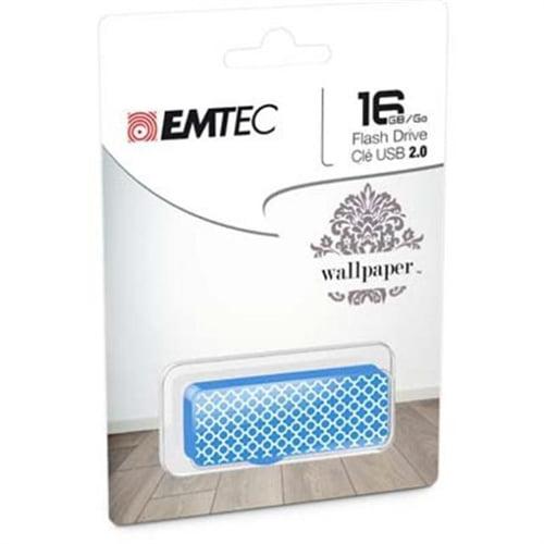 Emtec FLASH DRIVE 16GB M700 WP BLUE TILE ECMMD16GM710WP10