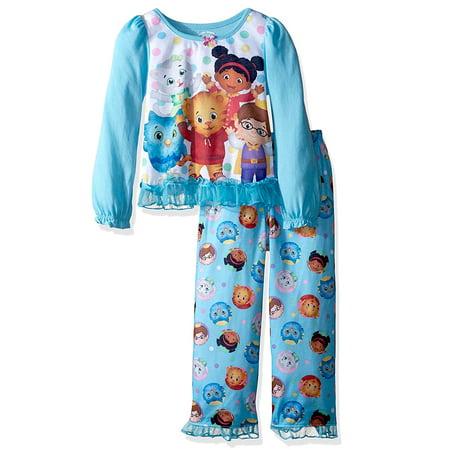 f730bd7412 Daniel Tiger - Daniel Tiger Toddler Girls Long Sleeve Poly Pajama ...