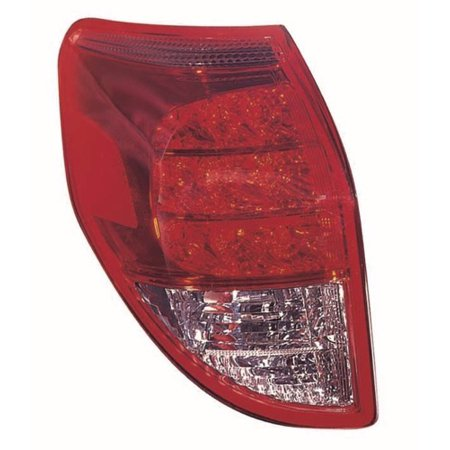 Go-Parts » 2006 - 2008 Toyota RAV4 Rear Tail Light Lamp Assembly Housing /  Lens / Cover - Left (Driver) Side 81561-42100 TO2818127 Replacement For